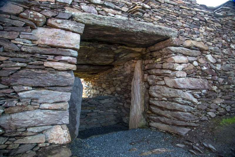 Tomb in Ireland