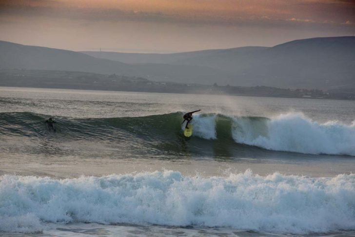 Surfing the Wild Atlantic Way Kerry