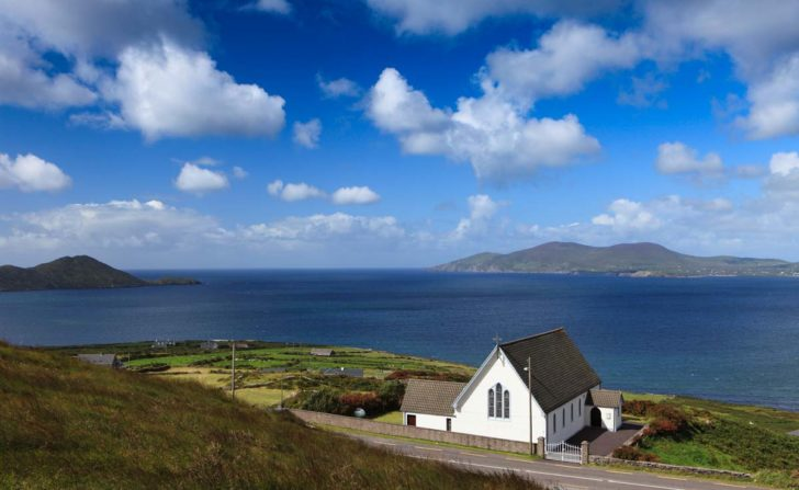 Loher Church Wild Atlantic way